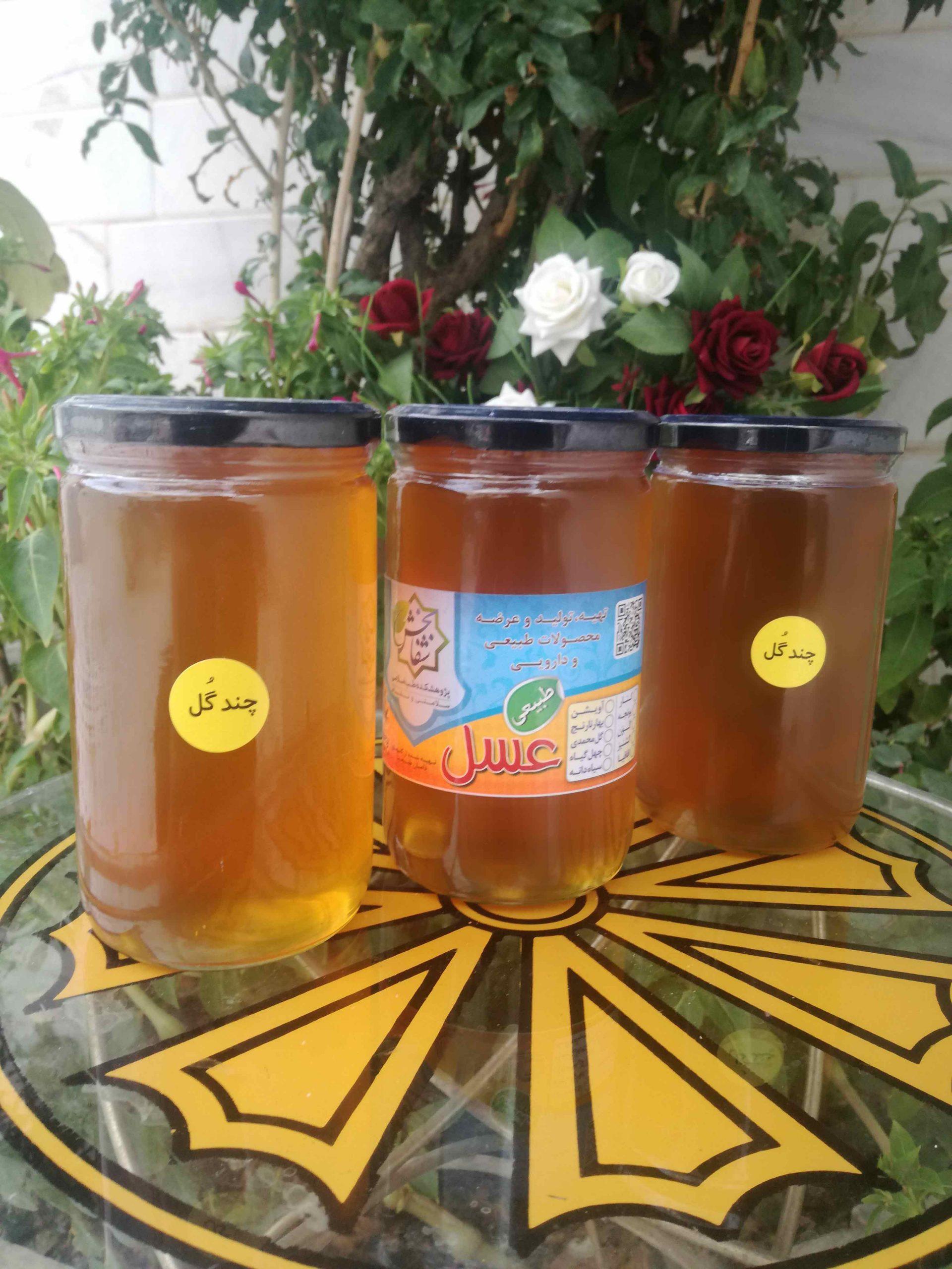 عسل چند گل شفابخش طب