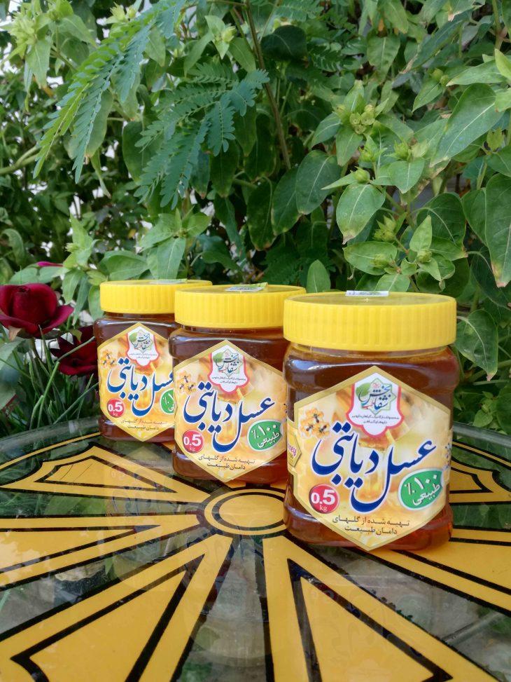 عسل دیابتی نیم شفابخش طب
